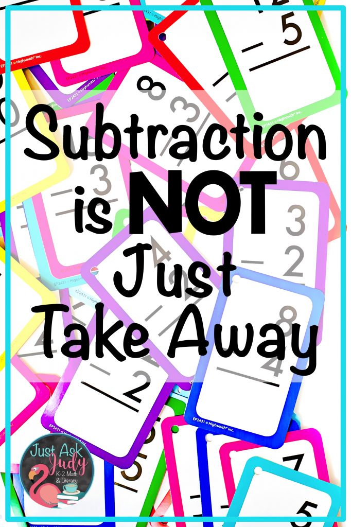 Read this blog post about teaching subtraction fact strategies. Find two free resources to help you teach the Count Up To strategy in first and second-grades. #SubtractionFacts #CountUpTo #1stGradeMath #2ndGradeMath