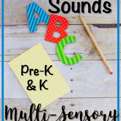 How to Effectively Introduce Letters and Sounds the Multi-Sensory Way