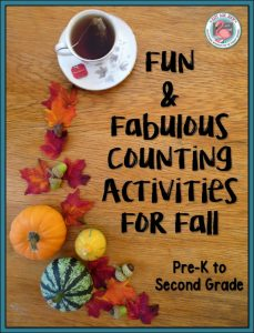 Check out these ideas and free resources for fall counting activities appropriate for use with pre-k to second grade.