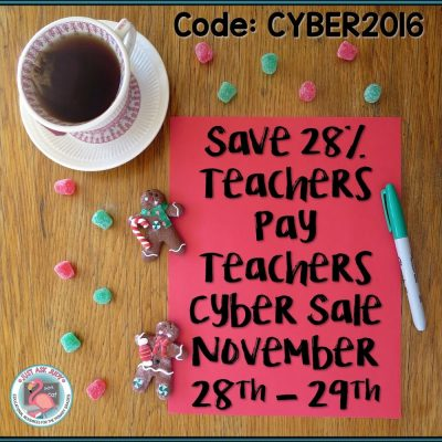2 Savvy Ways to Save: Teachers Pay Teachers Cyber Sale