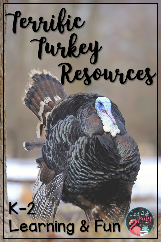 Click to check out these turkey and Thanksgiving resources (including a free even and odd numbers resource) for kindergarten, first, and second grades.