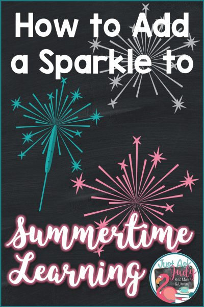 How to Add a Sparkle to Summertime Learning