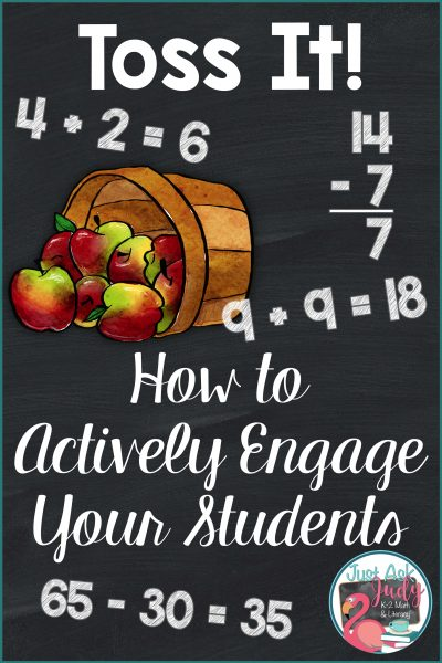 Toss It! How to Actively Engage Your Students