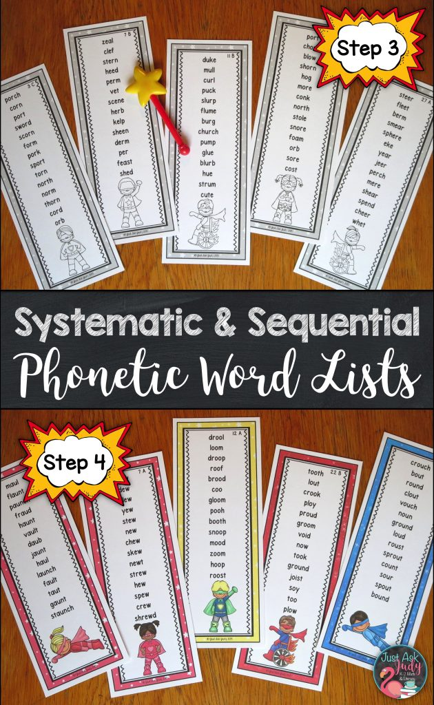 These easy to prepare word lists are an appealing way for first and second-grade students to apply their decoding skills and to develop fluency in reading one-syllable words with r-controlled, diphthong, and other vowel team patterns (al, au, aw, ew, oi, oy, oo, ou, and ow).