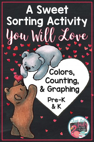 Read this post and discover an easy to prepare Valentine's Day sorting activity, perfect for preschoolers and kindergarteners.