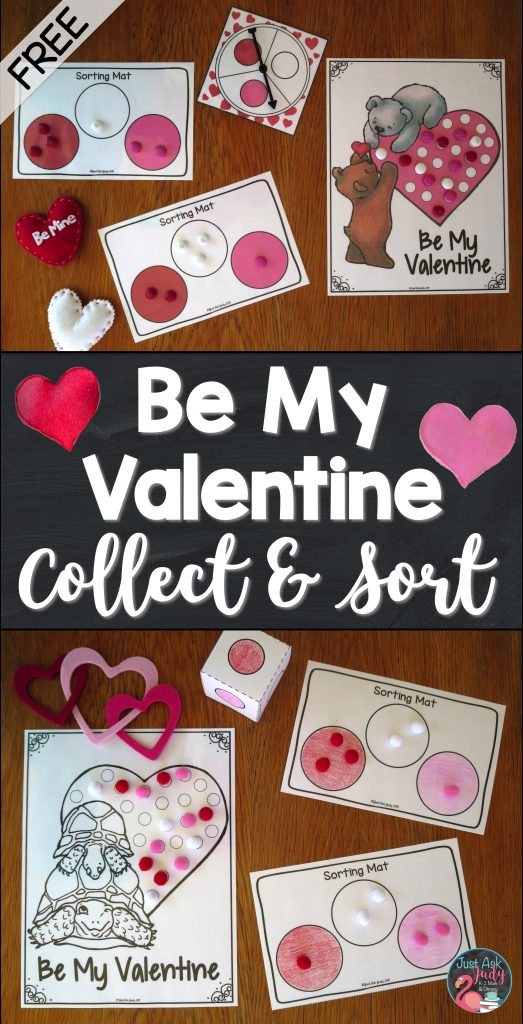 Engage young learners with this easy to prepare Valentine's Day sorting activity, ideal for pre-schoolers and kindergarteners.