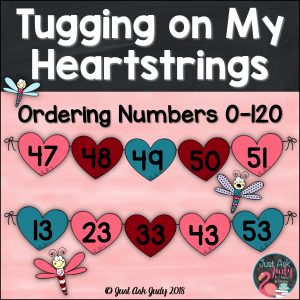 This is an open-ended Valentine's Day themed resource for sequencing numbers 0-120 in a variety of ways. It is appropriate for kindergarten, first, and second grade math.