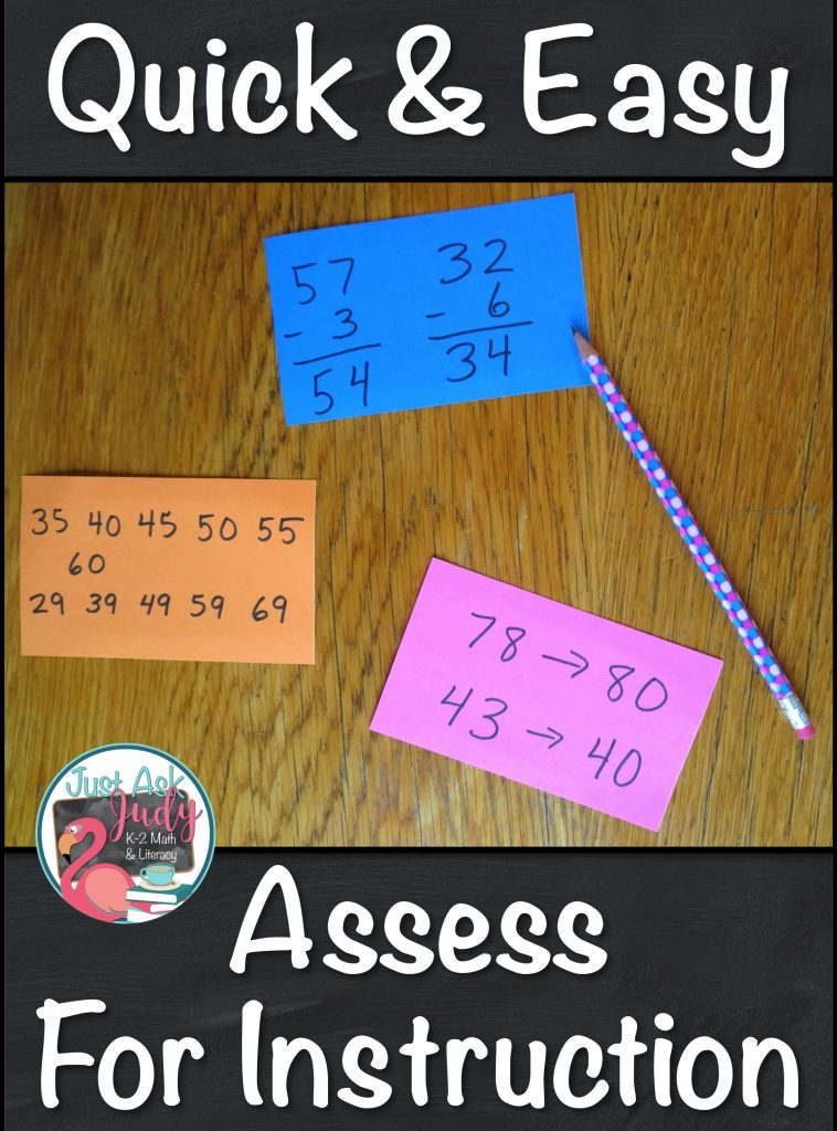 """Use index cards or scrap paper as """"entrance tickets"""" for creating short-term instructional groups."""