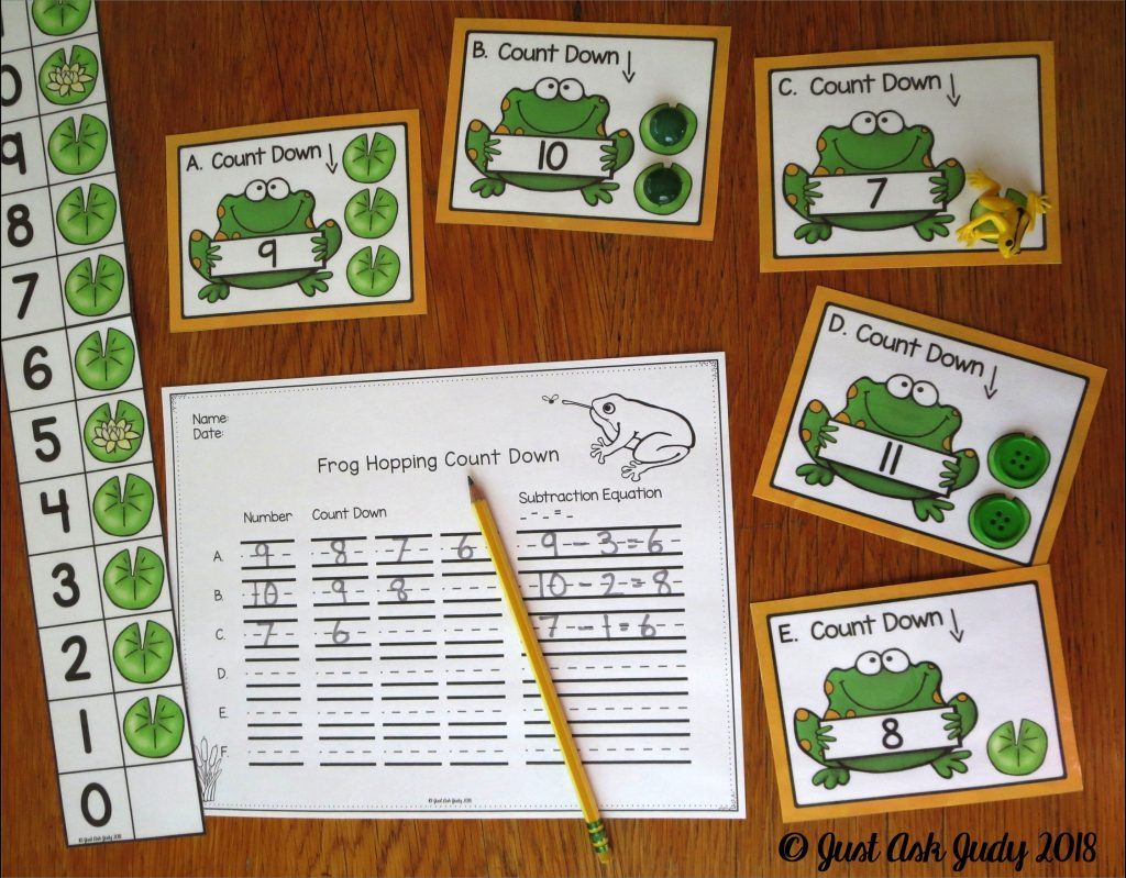 Read this blog post that includes a free first and second-grade math resource for teaching Count Down 1, 2, 3, a subtraction fact mental strategy.