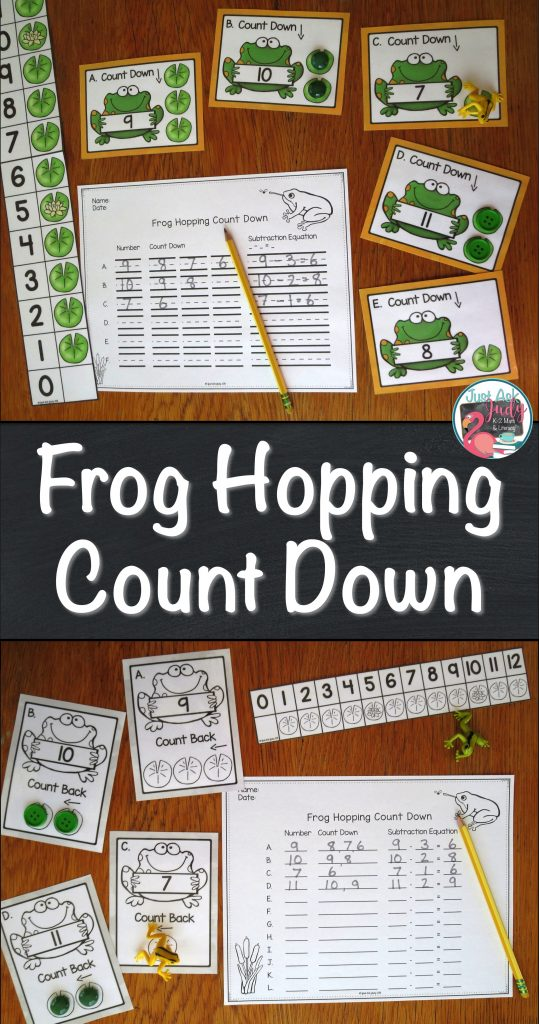 Check out this blog post that includes a free first and second-grade math resource for teaching Count Down 1, 2, 3, a subtraction fact mental strategy.