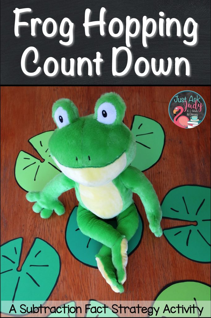 Find an idea and a free first and second-grade math resource for teaching the subtraction fact mental strategy for counting down or counting back 1, 2, or 3 from a given number.
