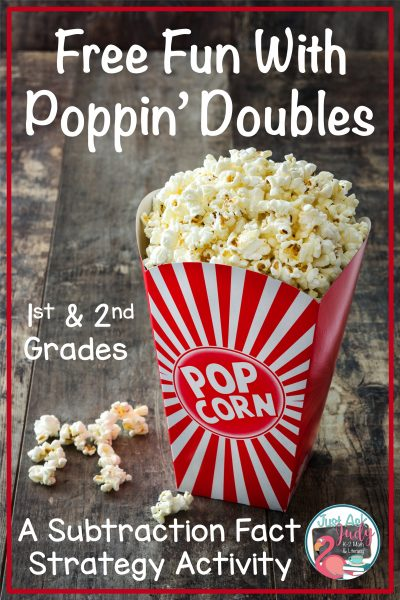 Free Fun With Popping Doubles for Subtraction