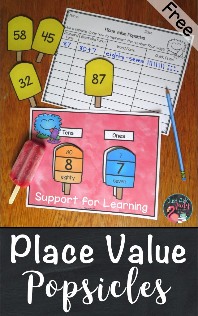 Help your students make explicit connections between the standard, expanded, and word forms of two or three-digit numbers with this place value activity, suitable for first, second, or third grade math.