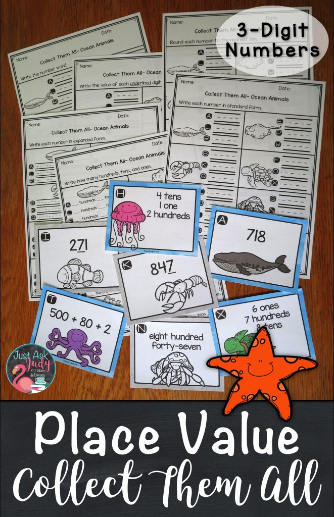 Check out this versatile ocean animal themed small group task card activity with a twist, ideal for second or third grade.
