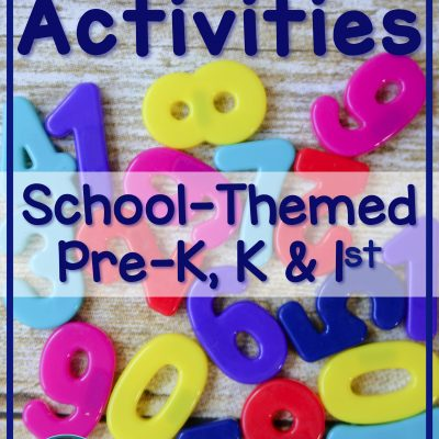 Free & Affordable Number Activities for a New School Year