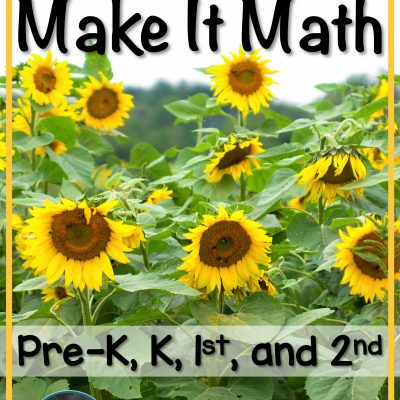 How to Take A Sunflower Craft & Make It Math