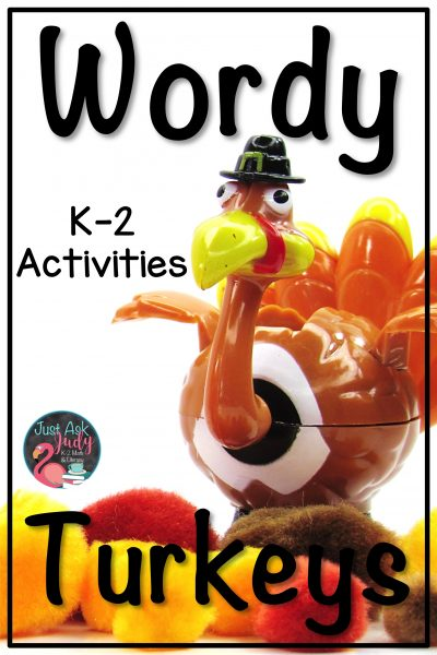 Try these wordy turkey activities with your kindergarten, first, and second-grade students. What a great way to encourage engagement with those oh-so-important high frequency words! #turkeys #SightWords #LiteracyCenters