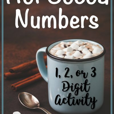 Warm up with a Free Hot Cocoa Number Activity
