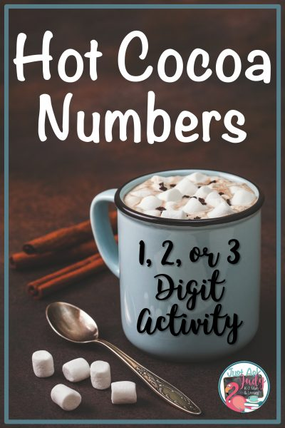 Why not let your kindergarten, first, second, and third-grade kiddos whip up a cup of hot cocoa with this free number activity! #HotCocoa #WinterMath #MathCenters