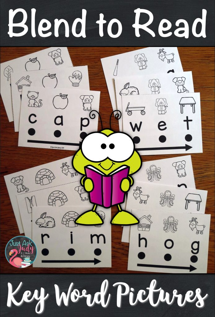 Find out more about this set of 180 word cards designed to support beginning or struggling students as they learn to decode CVC words in kindergarten and 1st grade. With these word cards, there is no mystery to solve or puzzle to figure out. There is a specific key word picture for easy reference above each letter to assist your students with letter-sound correspondence. #CVCWords #BeginningReaders