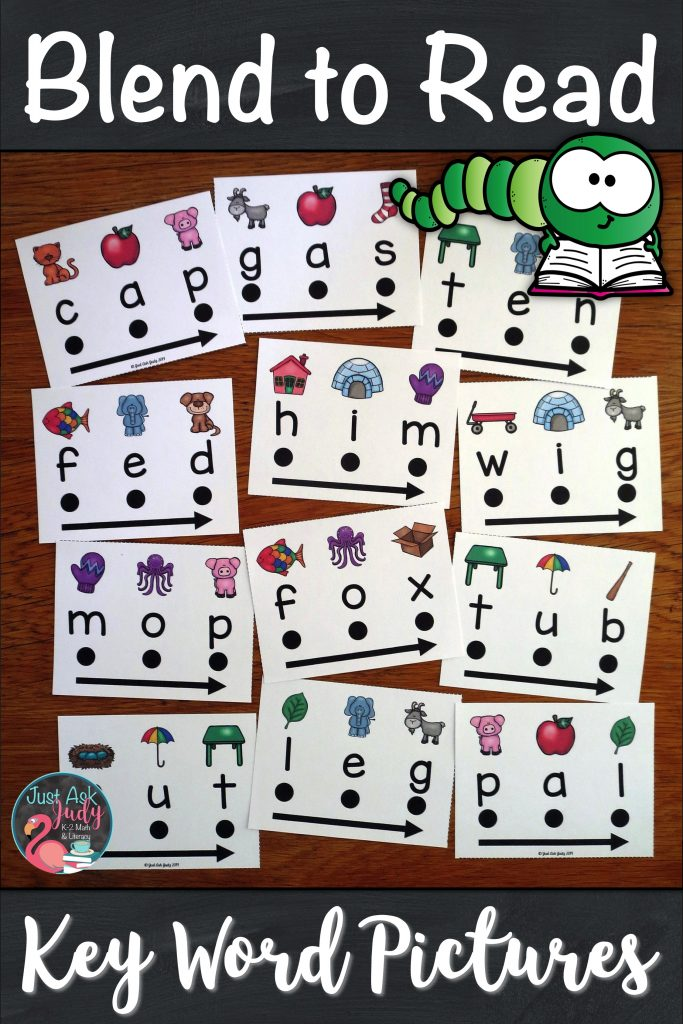 Try this set of 180 word cards designed to support beginning or struggling students as they learn to decode CVC words in kindergarten and first grade. With these word cards, there is no mystery to solve or puzzle to figure out. There is a specific key word picture for easy reference above each letter to assist your students with letter-sound correspondence. #KindergartenLiteracy #DecodingCVCWords