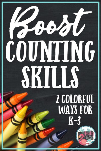 Find two colorful ways to help give your kindergarten, first, second, and early third grade students the repeated exposure and practice necessary to develop fluency with counting sequences. #OrderingNumbers #SequencingNumbers #NumberPatterns