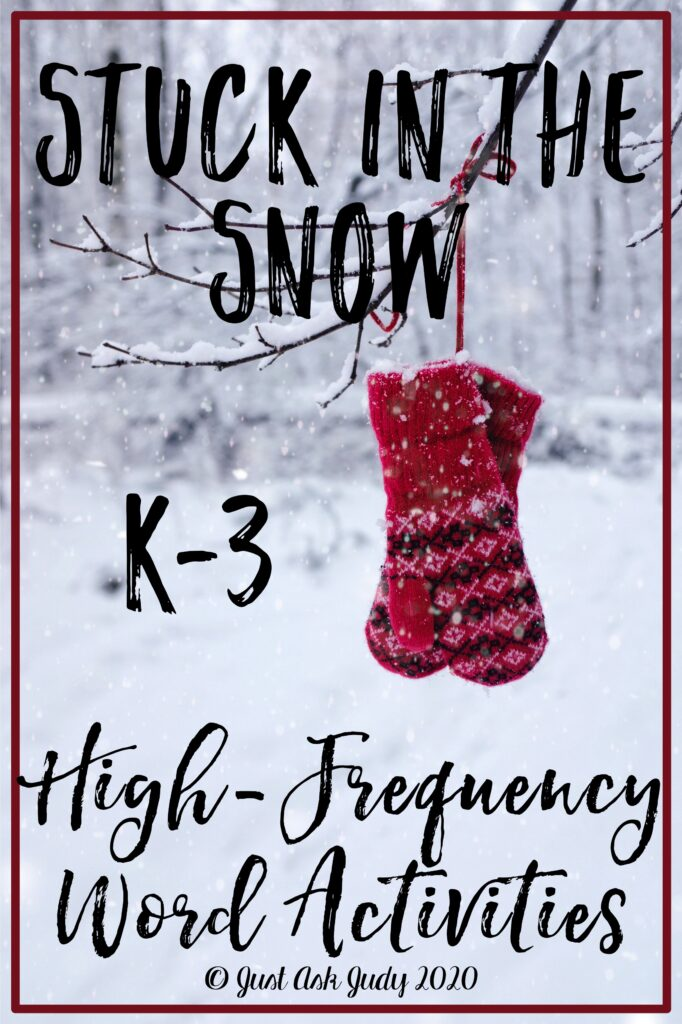 Find two Stuck in the Snow resources, including a freebie, to help your kindergarten, first, second, and third-grade students gain repeated exposure to high-frequency words. #Winter #SightWords