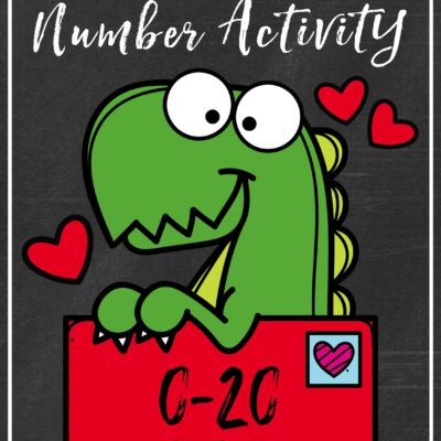 1 Free and Terrific Valentine Number Activity