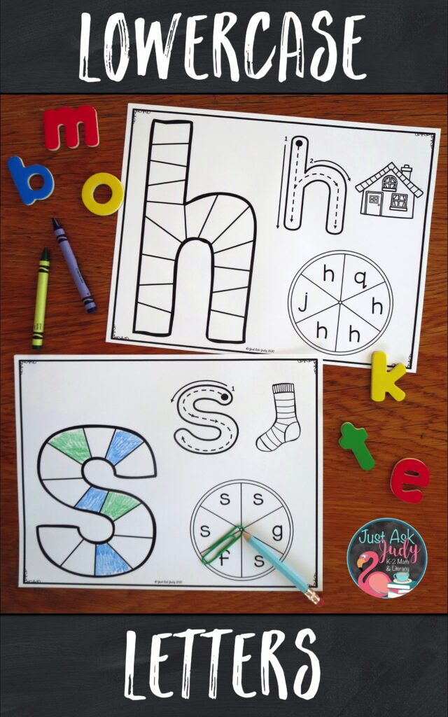 Try these lowercase letter game boards. They are designed to support your preschool, kindergarten, or struggling students as they learn to recognize letters. Give your students repetitive practice with recognizing a single letter.