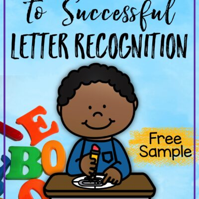 How to Spin Your Way to Successful Letter Recognition