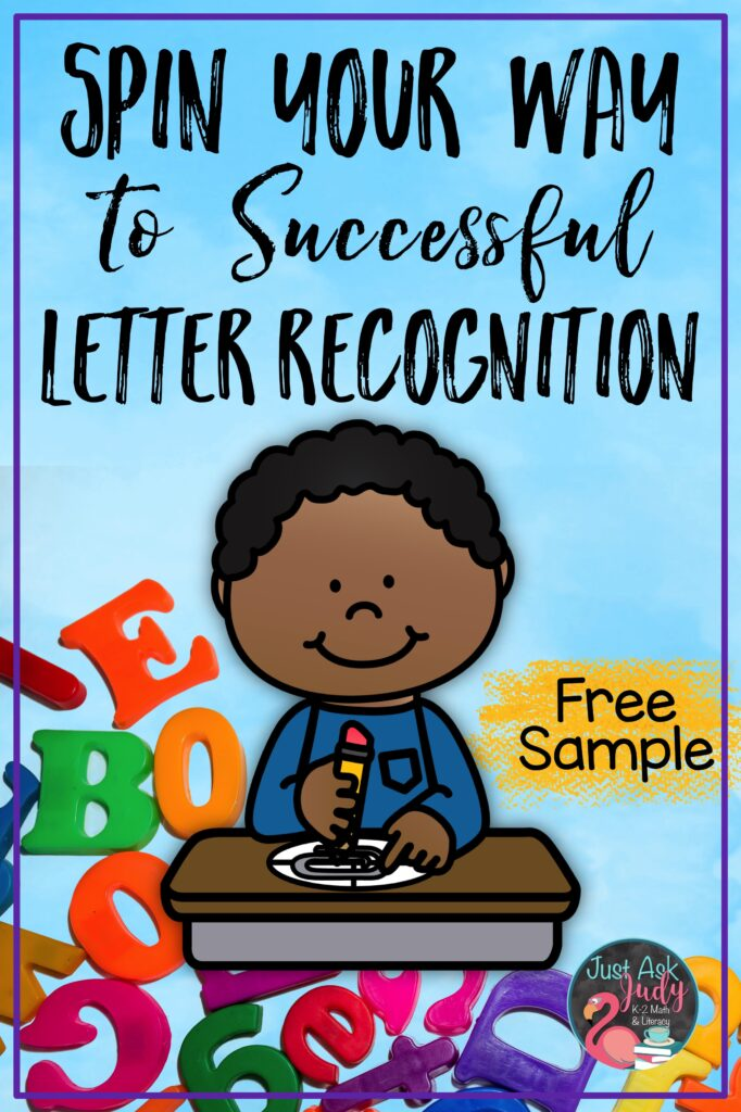 Check out this post about my lowercase letter game boards. Help your preschool, kindergarten, or struggling students experience success as they learn to recognize letters.