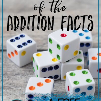 1 Irresistible Way to Boost Mastery of the Addition Facts