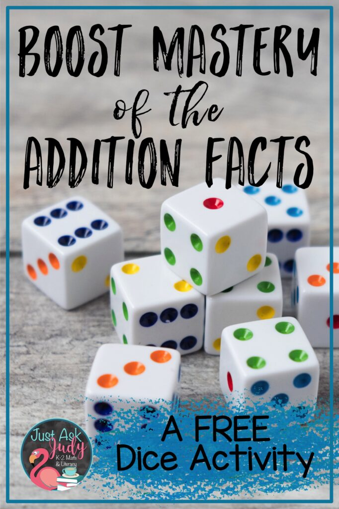 Check out this blog post about a free rabbit-themed dice activity. Help your kindergarteners, first, and second-graders to develop fluency in adding basic facts.