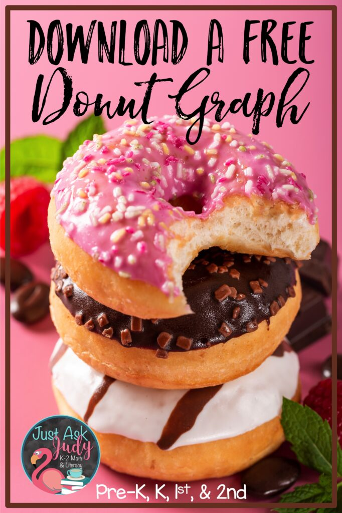 Find a free donut graphing activity in this blog post. Download it to help celebrate National Doughnut Day with your preschoolers, kindergarteners, first graders, or early second graders.
