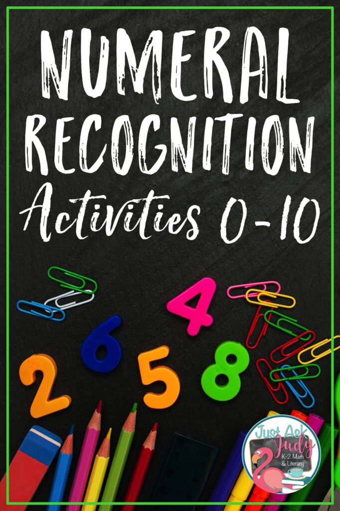 Find ideas and resources, including freebies, for teaching numeral recognition in preschool and kindergarten.