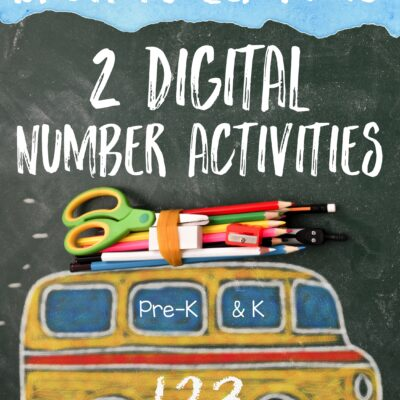 Double Down With 2 Made for Digital Number Activities
