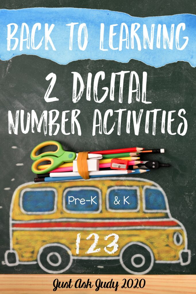 Visit my blog to find 2 digital number activities, including a freebie. These drag and drop resources for are perfect for preschool and kindergarten.