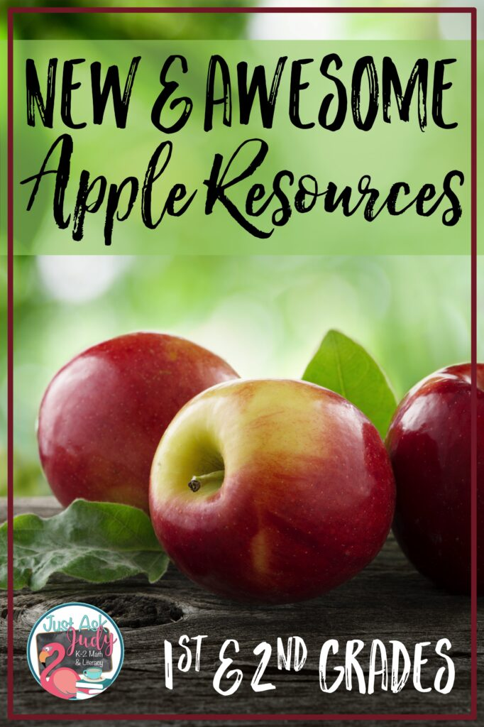 Find a free apple tree life cycle resource along with an apple tree themed addition and subtraction fact family product. Both are perfect additions to your first or second grade apple units.