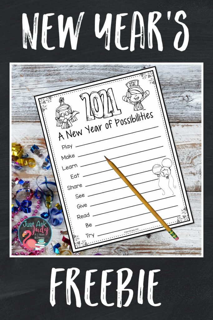 Check out this print and go freebie for a new year of possibilities!