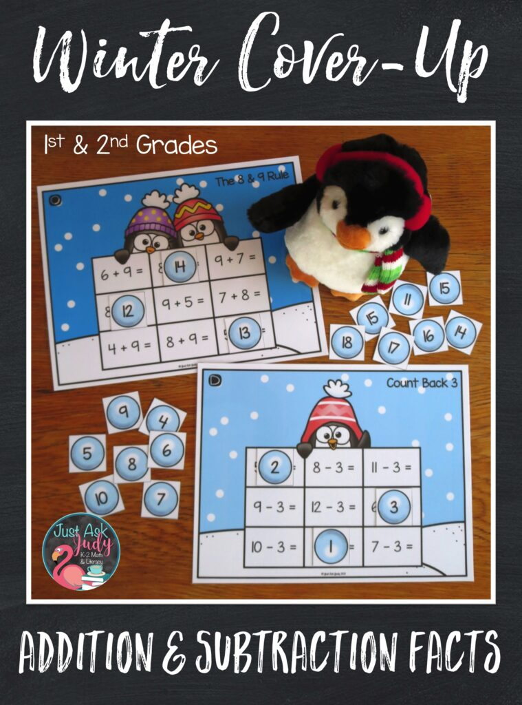 Let your first and second-grade students chill out as they apply mental strategies to compute the basic addition and subtraction facts. This activity is designed to help them practice, review, and develop fluency with the basic addition and subtraction facts to 20.