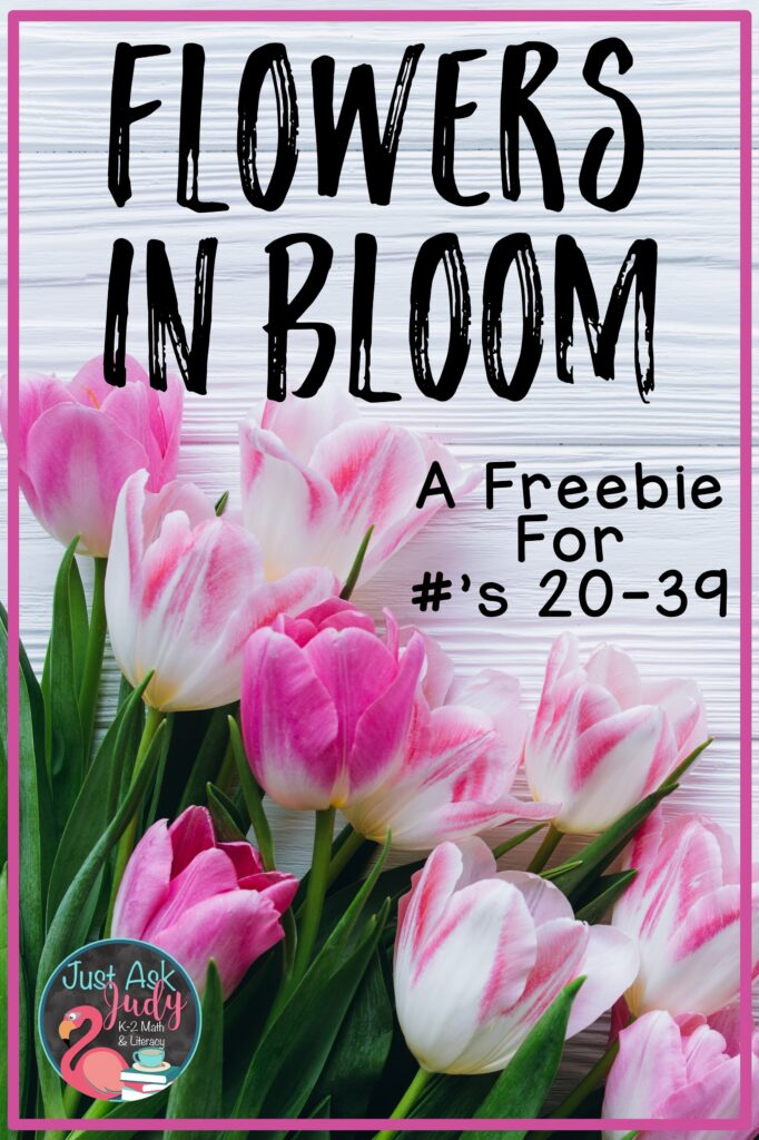 Find some tips and a spring-themed freebie to help your kindergarteners and first graders make connections between numerals and number words.