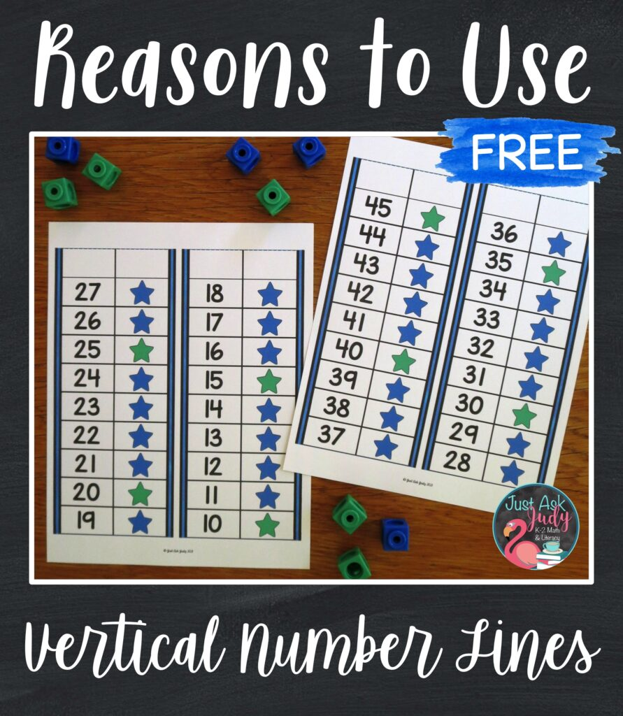 Find out why you should try vertical number lines with your kindergarten, first, and second grade students.