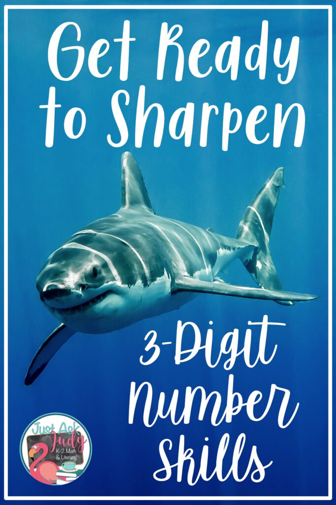 Check out this blog post for resources, ideas, and freebies to help you teach, practice, and review skills with 3-digit numbers in second and third grades.