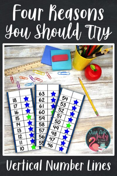 Check out this blog post and learn about the benefits of using these number lines with your kindergarten, first, and second grade students.