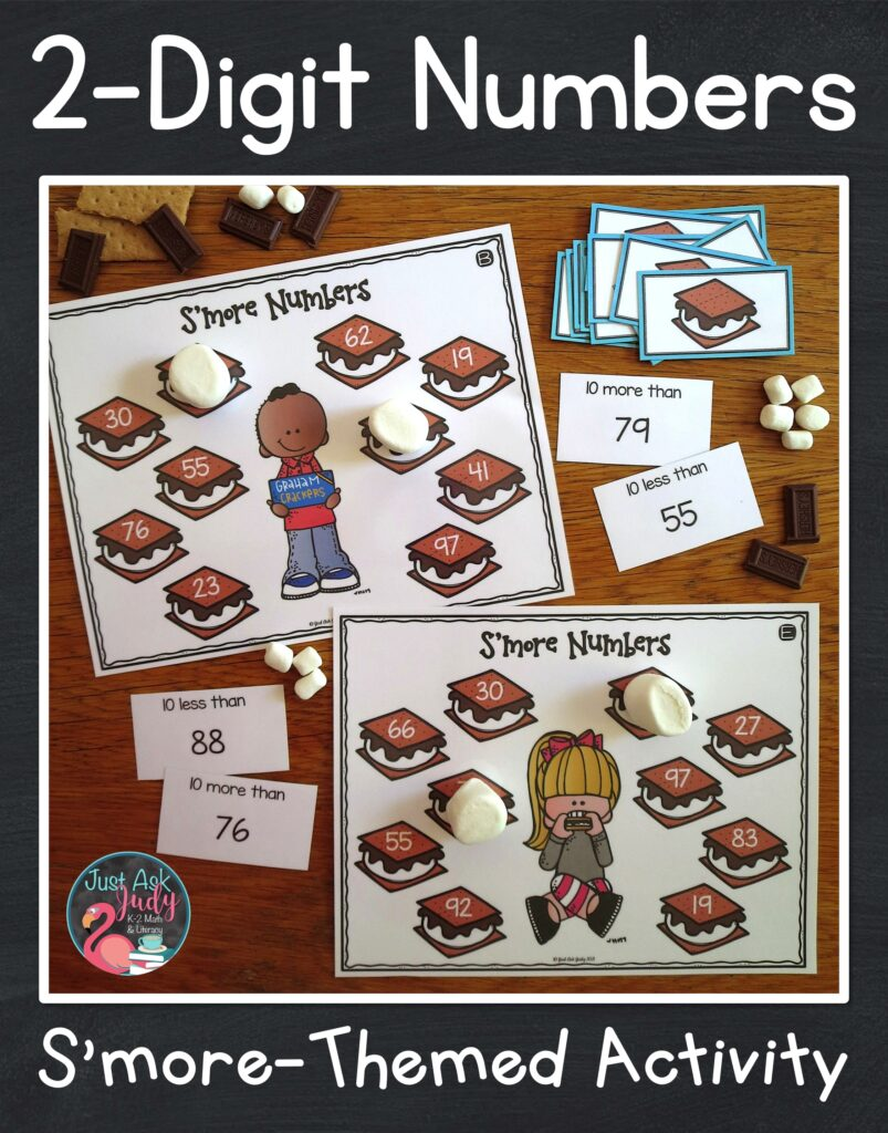 Try this versatile resource for practicing and reviewing two-digit number skills with your 1st and 2nd grade math students.