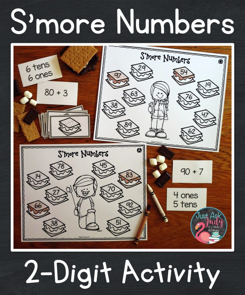 Engage your first and second graders with this flexible resource for practicing and reviewing 2 digit place value skills.