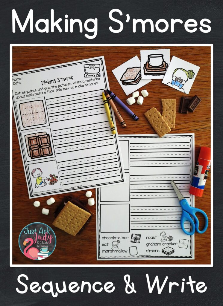 Get your first and second graders excited about writing with this free activity. Can they tell you how to make s'mores?