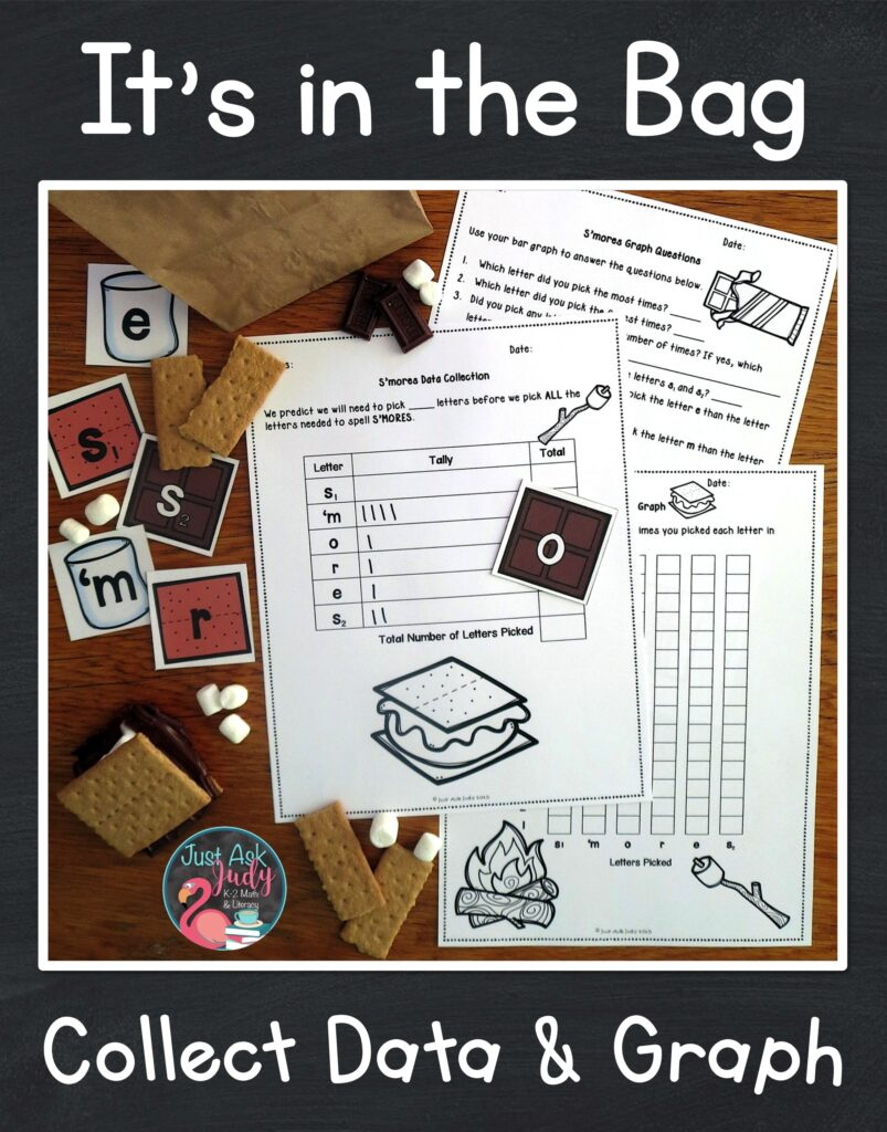 Check out this data collection and graphing activity. What an ideal activity for engaging your first, second, and third-graders in s'more learning!